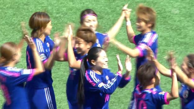 Video «Fussball: Frauen WM in Kanada, Gruppe C, Japan - Ecuador» abspielen