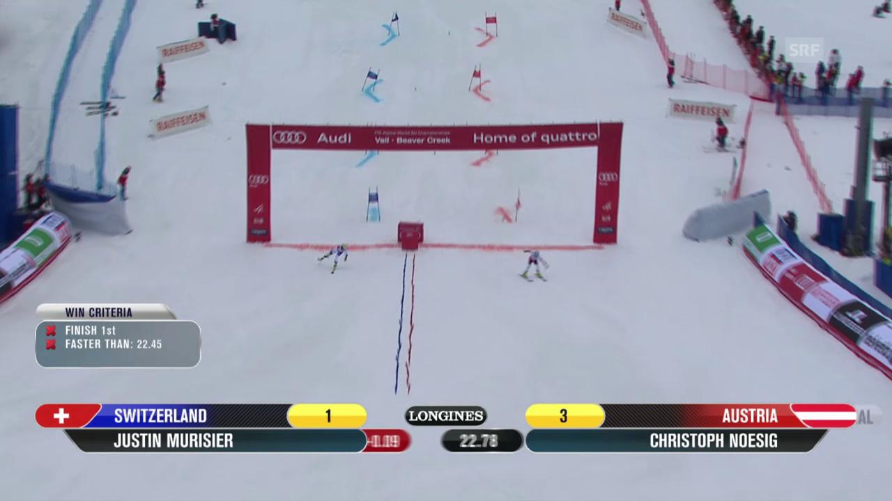 Ski alpin: WM 2015 in Vail/Beaver Creek, Team-Event, Halbfinal Österreich - Schweiz