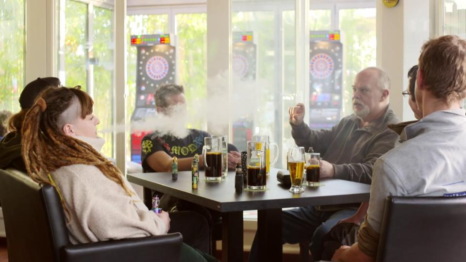 Diese «Dampfer» verdanken ihren Rauchstopp der E-Zigarette.