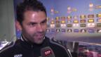 Video «Fussball. Europa League, YB-Trainer Forte vor dem Match gegen Sparta» abspielen