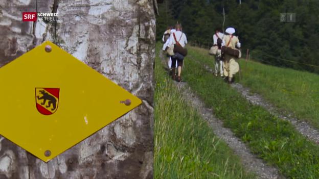 Video «Pilger-Etappe 8: Von Burgdorf nach Bern» abspielen