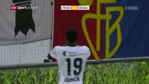 Video «Oberlins Torpremiere in der Super League» abspielen