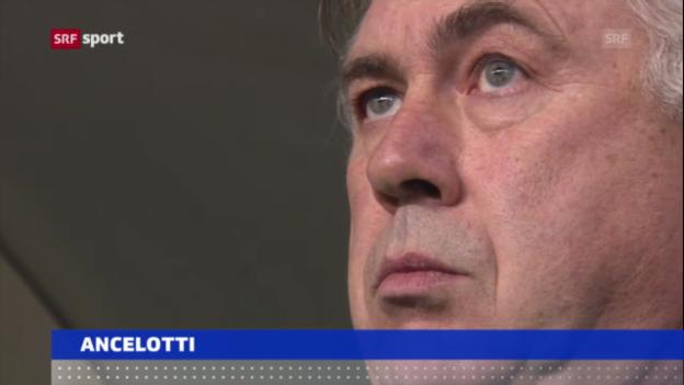 Video «Fussball: Ancelotti zu Real, Blanc zu PSG («sportaktuell»)» abspielen