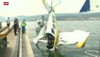 Video «Zwei Tote bei Flugzeugabsturz in Cudrefin» abspielen