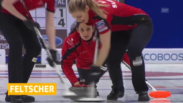 Video «Schweizerinnen unterliegen Südkorea («sportlive»)» abspielen