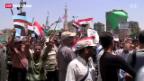 Video «Demonstrationen in Ägypten» abspielen