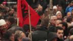 Video «Proteste gegen Abkommen im Kosovo» abspielen