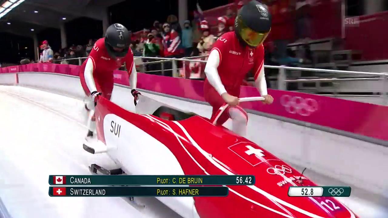 Der 2. Lauf der Schweizerinnen