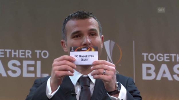 Video «Fussball: Auslosung der Europa-League-Sechzehntelfinals» abspielen
