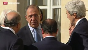 Video «Lawrow und Kerry in Paris» abspielen