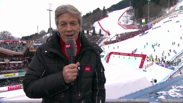 SRF-Experte Bernhard Russi zieht Bilanz bei den Schweizer Männern («sportpanorama»)