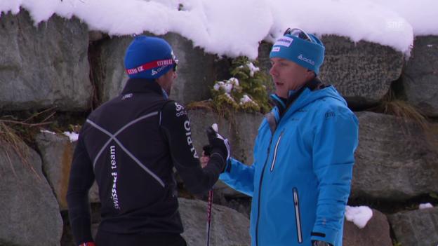 Video «Langlauf: Neuer Schwung dank Trainer Ivan Hudac» abspielen