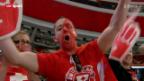 Video «Bewunderung für Eishockey-Nati von allen Seiten» abspielen
