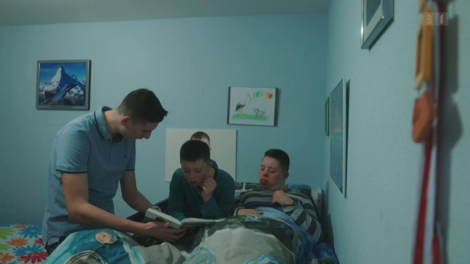 Das Leben mit zwei Brüdern mit Down-Syndrom macht Spass, ist aber manchmal auch anstrengend.