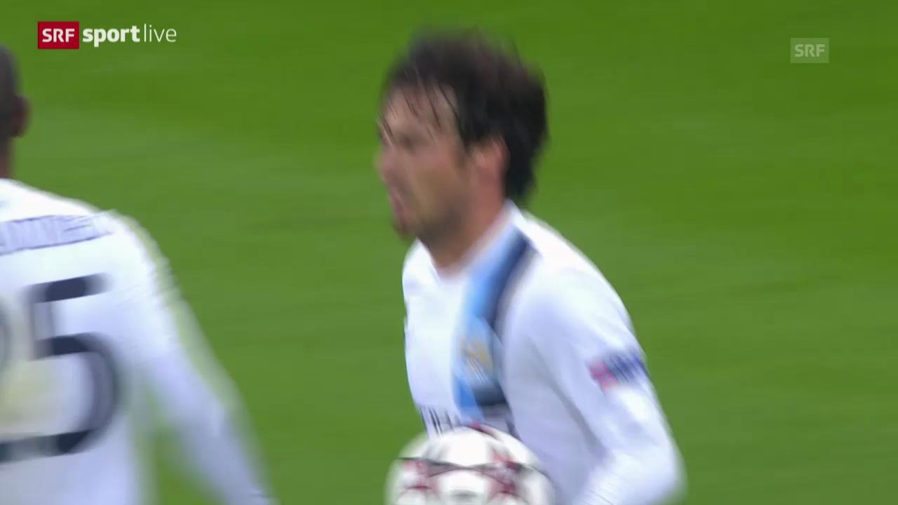 Fussball: CL, Bayern München - Manchester City («sportlive», 10.12.2013)