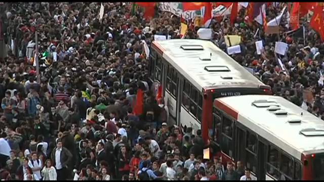 Demonstrationen in Brasilien («sportaktuell»)