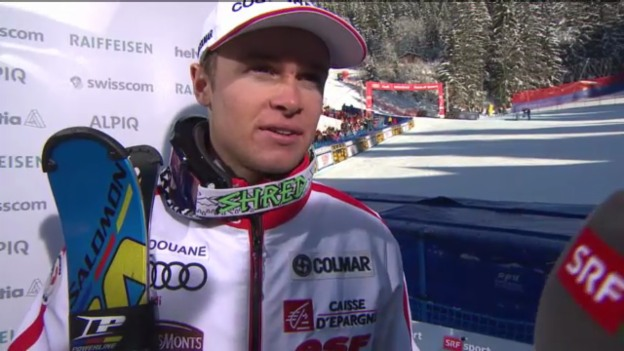 Video «Ski alpin: Interview mit Alexis Pinturault» abspielen