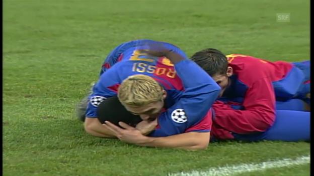 Video «Das verrückte 3:3 zwischen Basel und Liverpool» abspielen