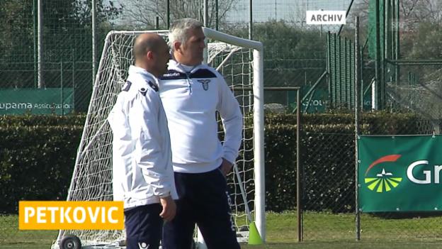 Video «Fussball: Petkovic muss bei Lazio gehen» abspielen