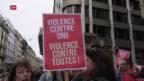 Video «Demo gegen Gewalt an Frauen» abspielen