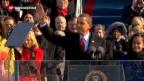 Video «Vereidigung von Barack Obama» abspielen