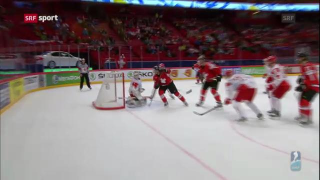 Eishockey: Schweiz besiegt auch Dänemark