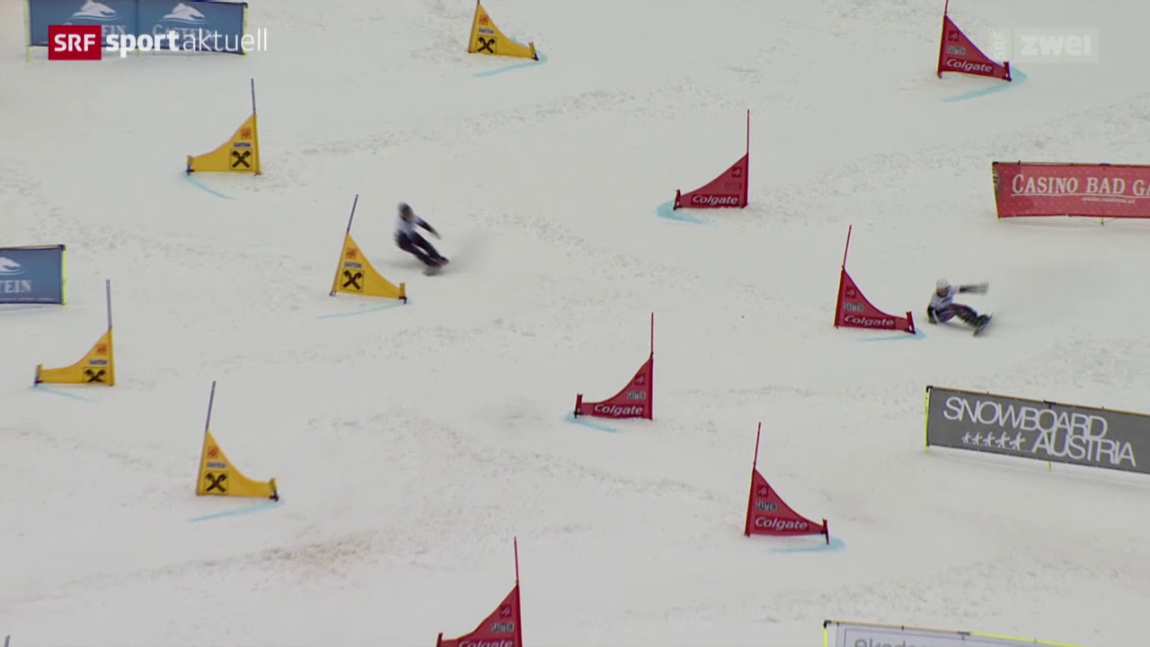 Snowboward: Alpin, Parallelslalom in Bad Gastein