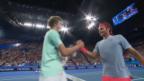 Video «Die Highlights bei Federer - Zverev» abspielen