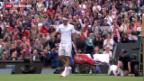 Video «Nachrichtenblock Tennis Wimbledon» abspielen