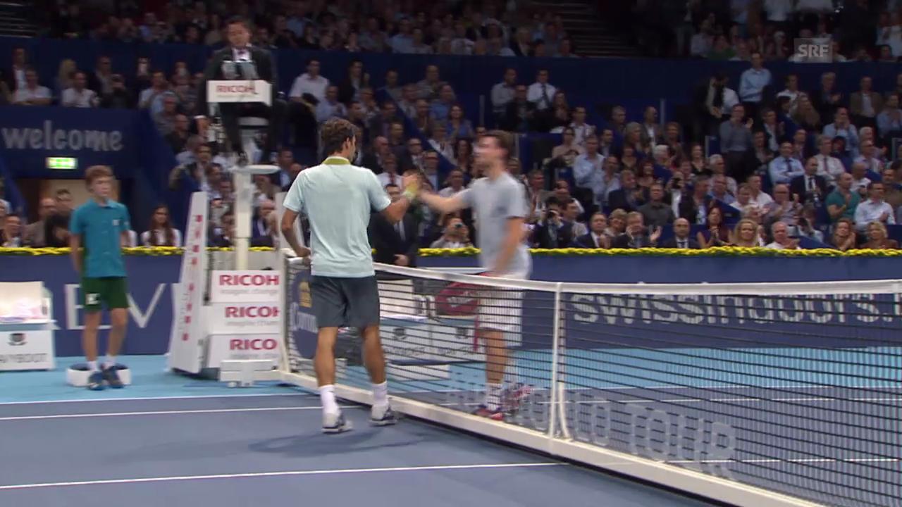 Federer-Mannarino: Entscheidende Ballwechsel («sportlive»)