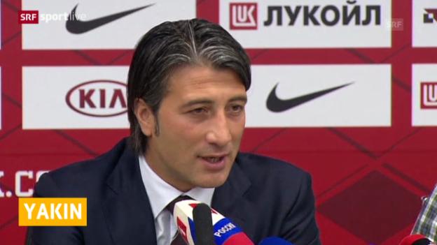 Video «Fussball: Murat Yakin wird Trainer bei Spartak Moskau» abspielen