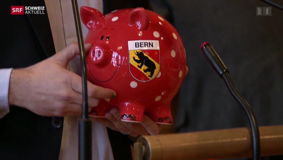 Beginn der grossen Spardebatte in Bern