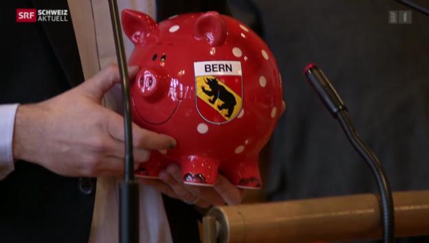 Video «Beginn der grossen Spardebatte in Bern» abspielen