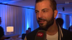 Video «Paola Felix, Bligg, Nik Hartmann: Das sagen sie über Polo Hofer» abspielen