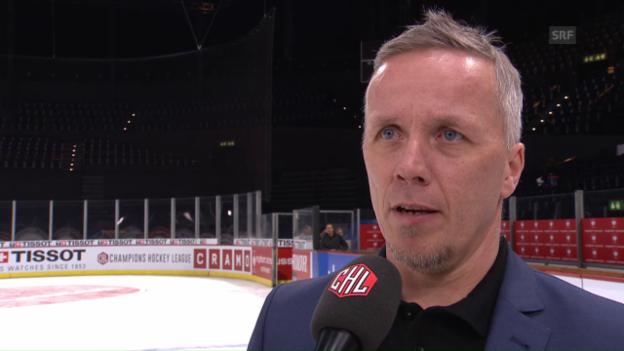 Video «ZSC-Coach Walsson: «Müssen mehr Emotionen reinbringen»» abspielen