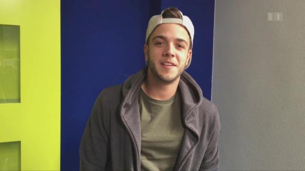 Video «Luca Hänni wird ESC-Punktefee» abspielen