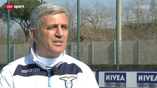 Vladimir Petkovic über sein Trainerleben in Rom