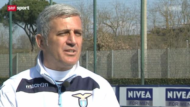 Video «Vladimir Petkovic über sein Trainerleben in Rom» abspielen