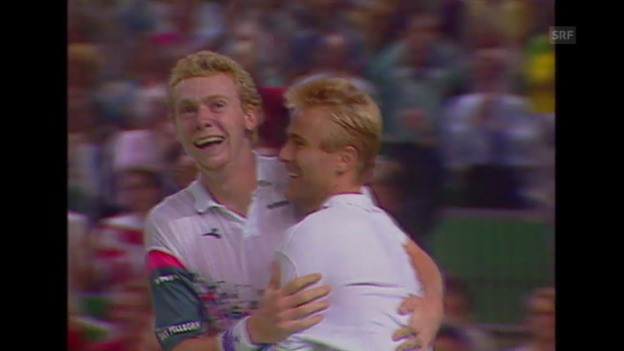 Video «Tennis: Davis-Cup, Rückblick auf die Schweizer Halbfinals» abspielen