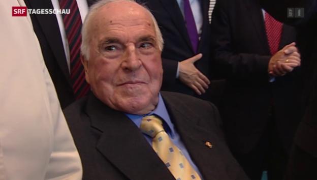 Video «Helmut Kohl wird 85 Jahre alt» abspielen