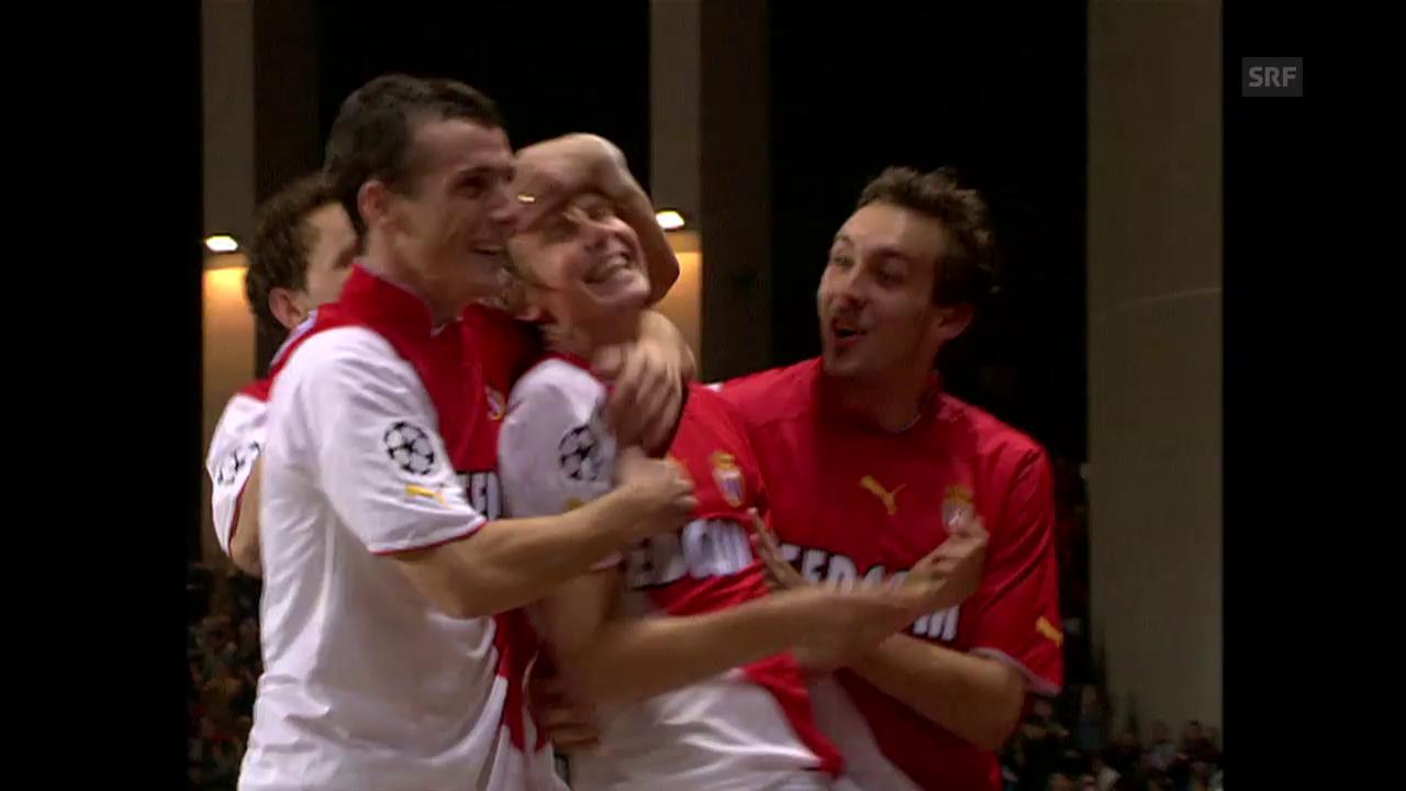 So spielte sich Monaco 2004 in den CL-Final