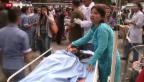 Video «Über 1000 Tote nach Erdbeben» abspielen