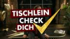 Video «Tischlein Check Dich: Wasser» abspielen