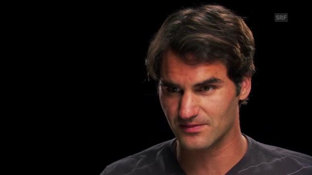 Interview mit Federer