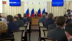 Video «Medwedew besucht die Krim» abspielen