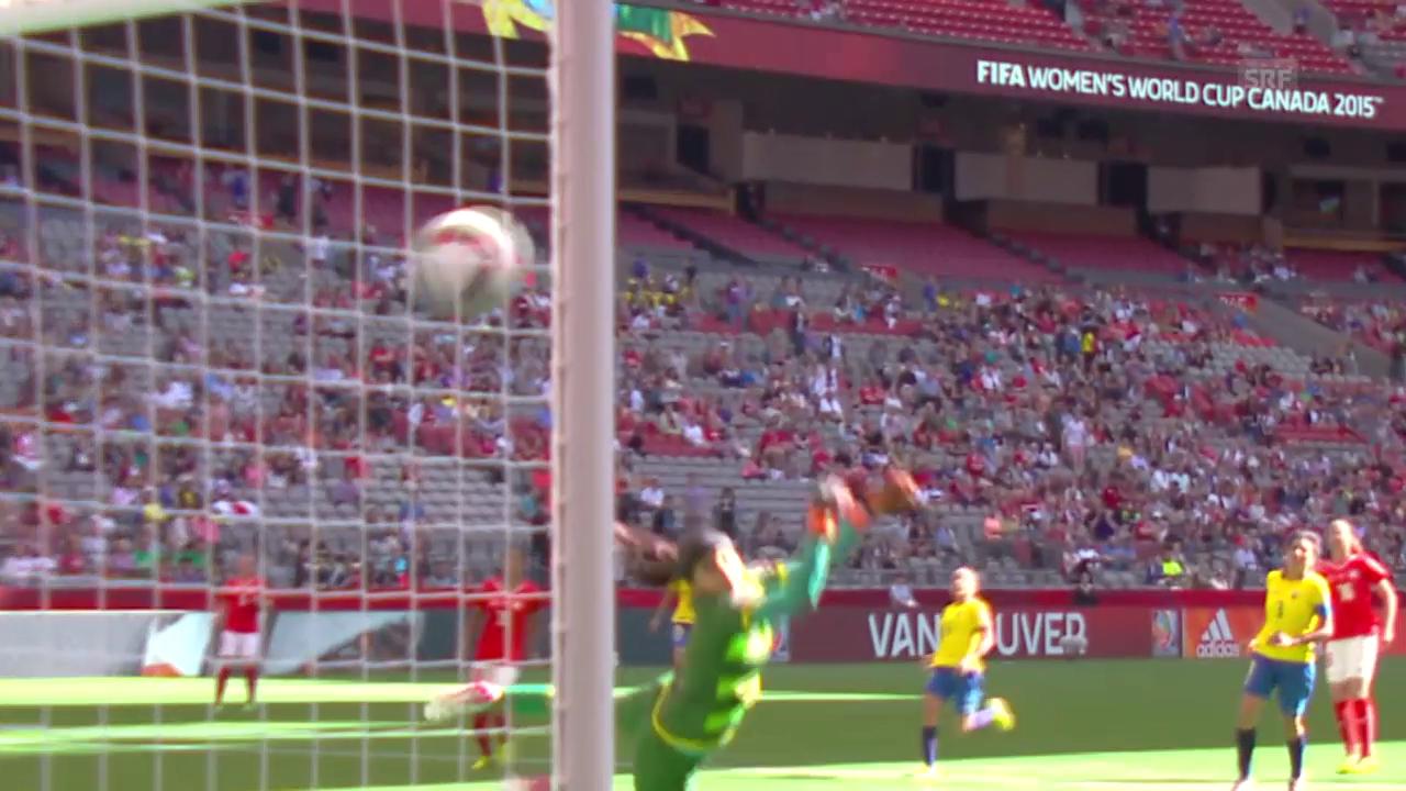 Fussball: Frauen-WM, Zusammenfassung Schweiz - Ecuador