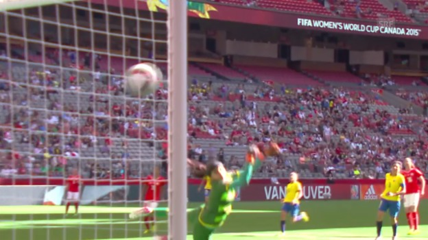 Video «Fussball: Frauen-WM, Zusammenfassung Schweiz - Ecuador» abspielen