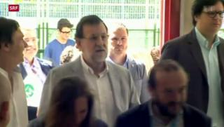 Video «Spaniens Regierungspartei verliert absolutes Mehr» abspielen