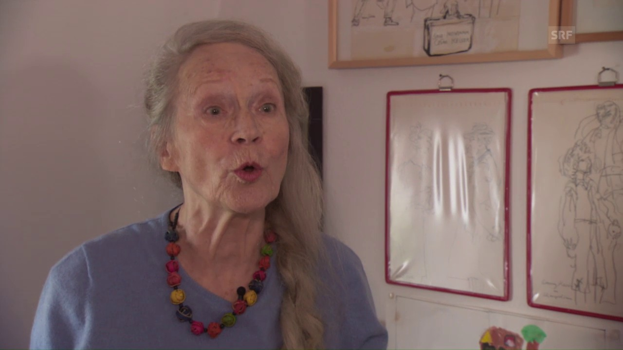Margrit Läubli rappt