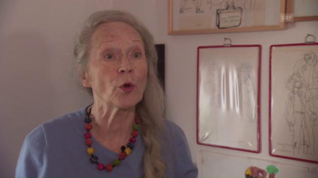 Video «Margrit Läubli rappt» abspielen